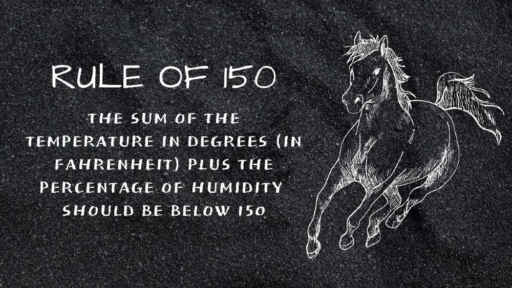 Rule of 150 horse heat tolerance (1) (1)